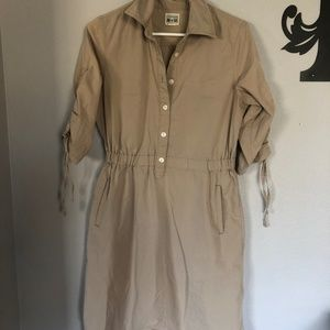 Converse One Star Pocket Cinch Dress Medium